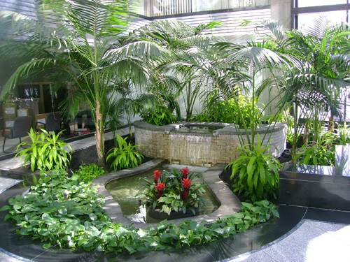 indoor atrium in burlington ma
