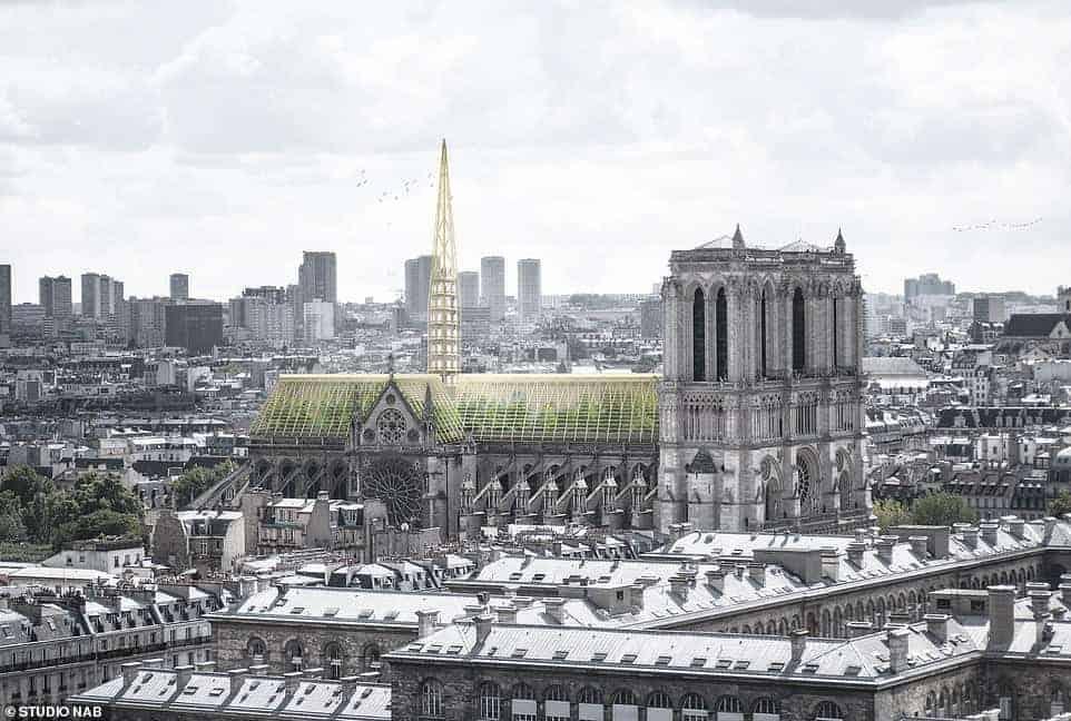 Cathédrale Notre-Dame de Paris - Notre-Dame de Paris fire